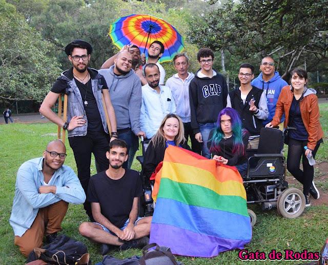 1º Piquenique - LGBT's com Deficiência