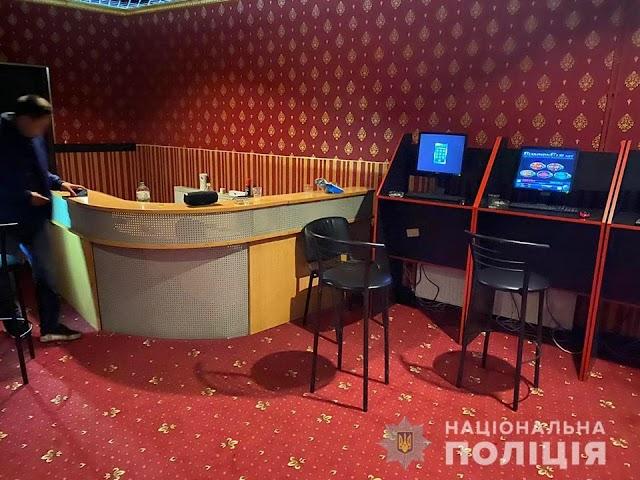 У Києво-Святошинському районі викрили підпільний гральний заклад
