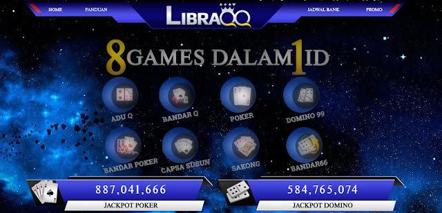 LibraQQ - Ciri-ciri Dan Kelebihan Agen Poker Dominoqq Terpercaya