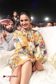 Actress Rakul Preet Singh Stills in Short Dress at Dhruva Pre Release Function  0084.JPG
