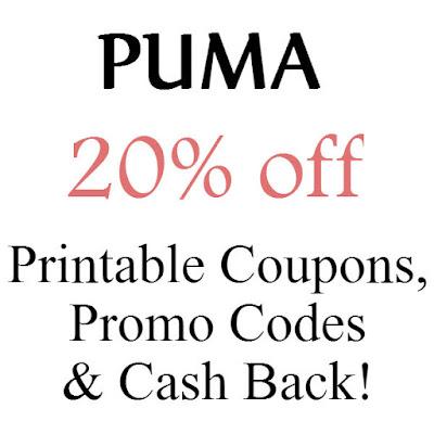 Puma Promo Code January 2016, February 2016