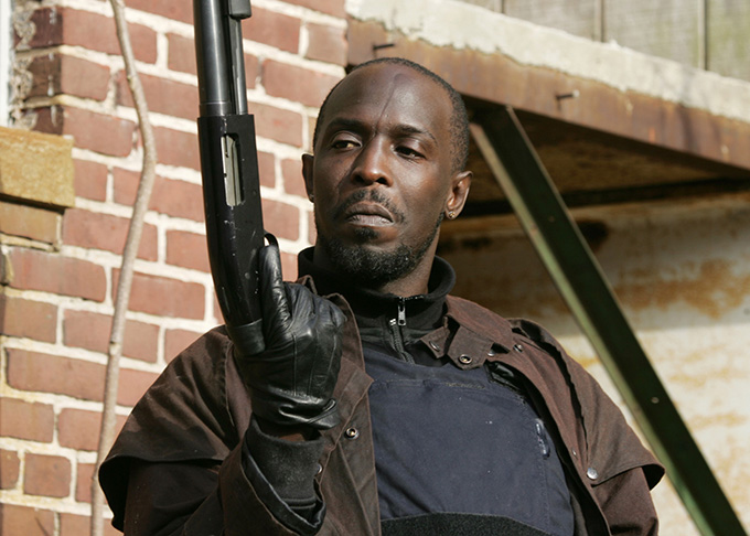 Michael Kenneth Williams interpreta a Omar Little en The Wire, de HBO