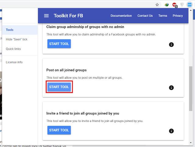 Cara Upload/Berbagi ke Banyak Grup Facebook Sekaligus