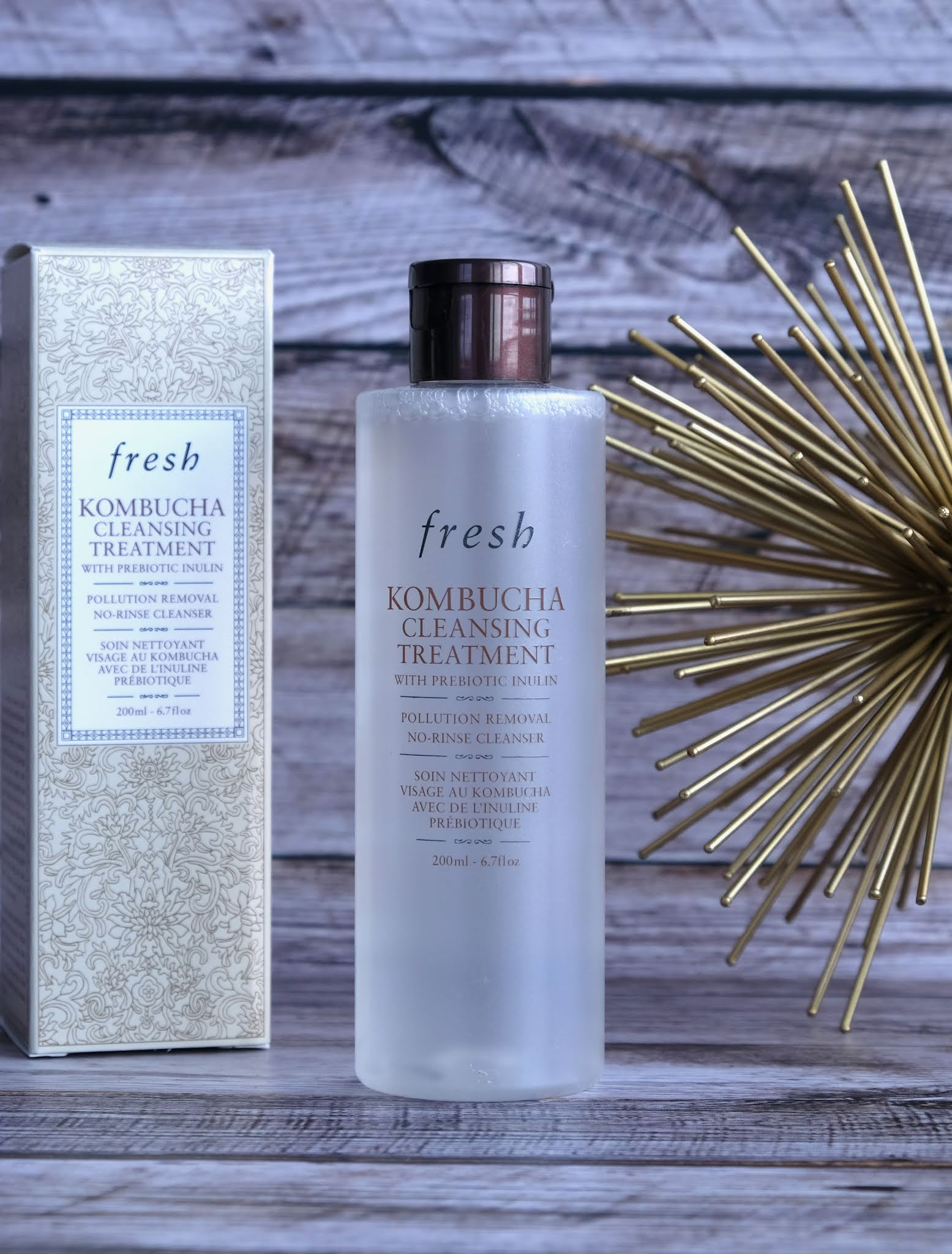 Fresh | Kombucha 2-in-1 No-Rinse Cleanser & Prebiotic Treatment: Review