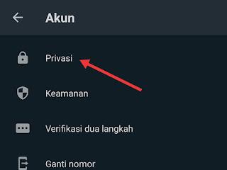cara blokir nomor whatsapp