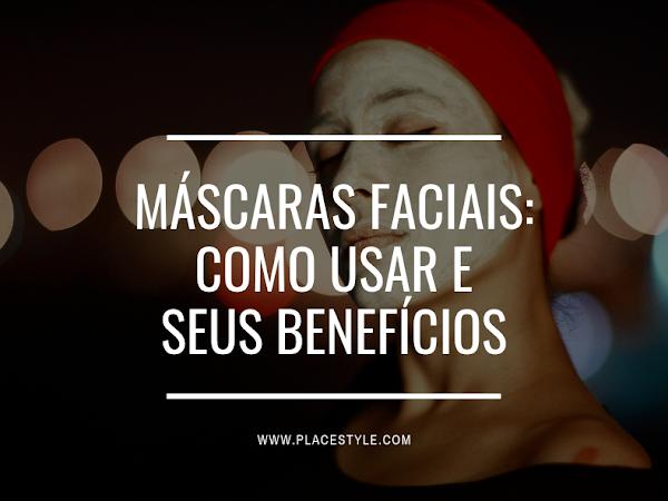 Máscaras faciais: Como usar e seus benefícios