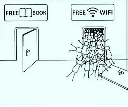 Bedava Kitap / Bedava WiFi
