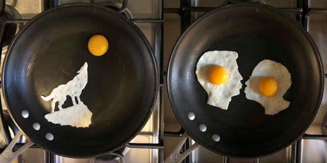 Zaman Now, Telur Pun Bisa Jadi Karya Seni Menakjubkan!