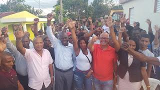 Candidato a la alcaldía Julian Mateo  recibe respaldo de los reformistas de Villa Altagracia
