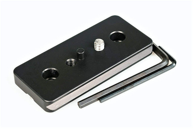 Hejnar D049 Lens Plate with screws and tools