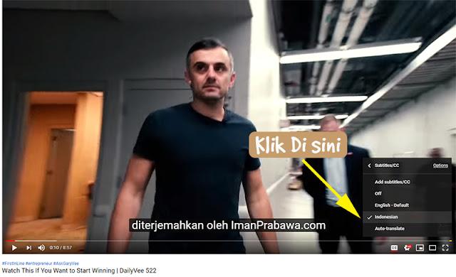 CC Bahasa Indonesia Garyvee