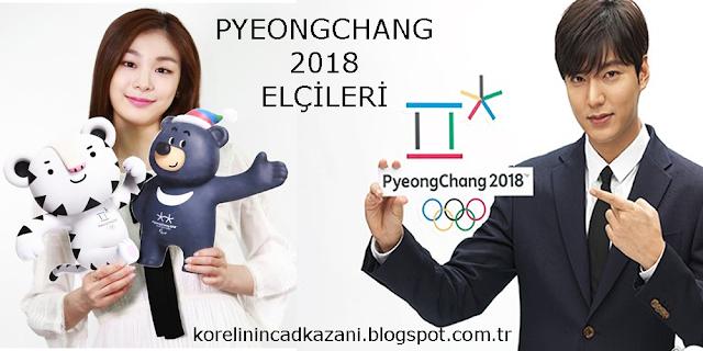 Pyeongchang 2018 Elçileri Lee Min Ho ve Kim Yuna!