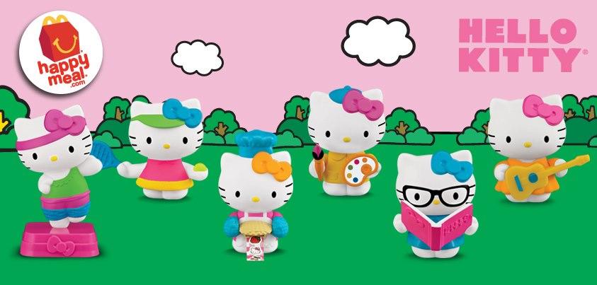 Hello Kitty Happy Meal Toys : The house of kent hello kitty mcdonald s happy meals