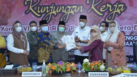 Komisi VIII DPR RI Tinjau Persiapan Kuliah Tatap Muka UIN Imam Bonjol Padang