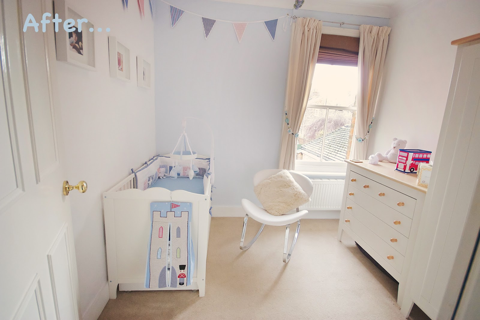 Small Nursery Ideasthe Before And The After