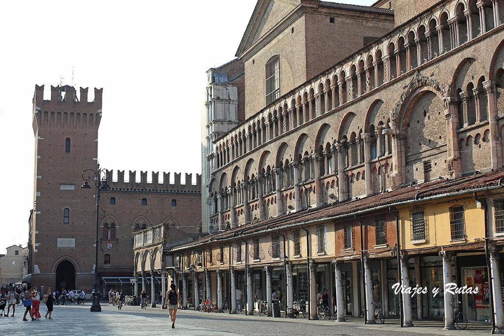 Piazza Trento e Trieste de Ferrara