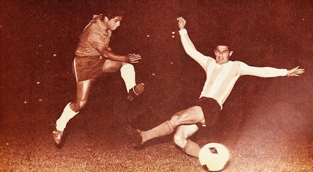 Chile y Argentina en Copa Carlos Dittborn 1962, partido de ida