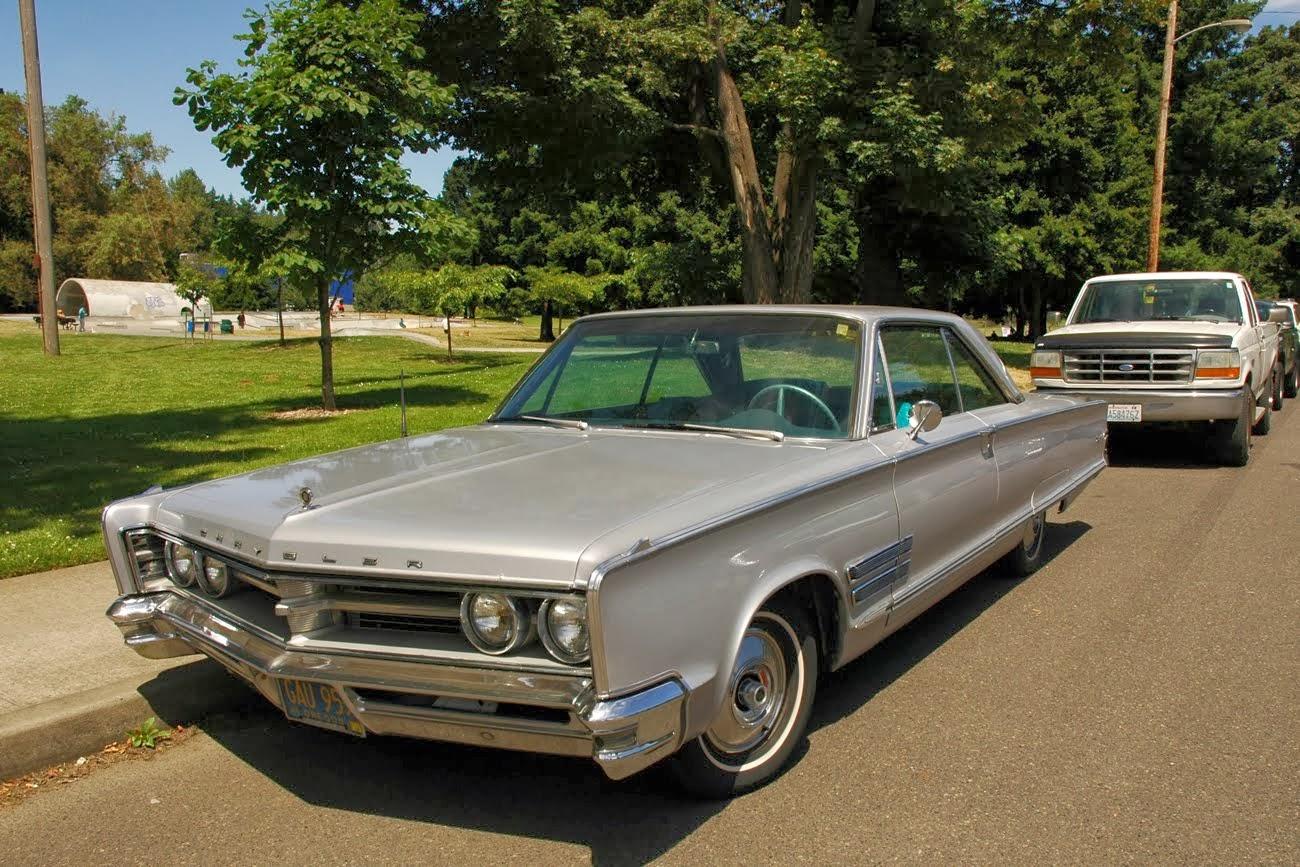 Parked Cars Revisited 1966 Chrysler Newport 4 Door: Transpress Nz: 1966 Chrysler 300