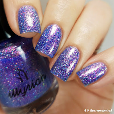 Illyrian Polish Nil Collection Blue Dream Swatches and Review