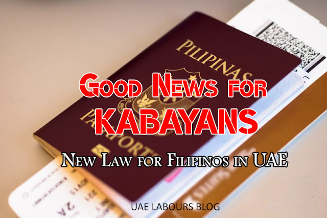 United Arab Emirates especially Dubai together with Abu Dhabi is trying their best to attain the In Luckiest Year for Filipinos (New Rules 2017)