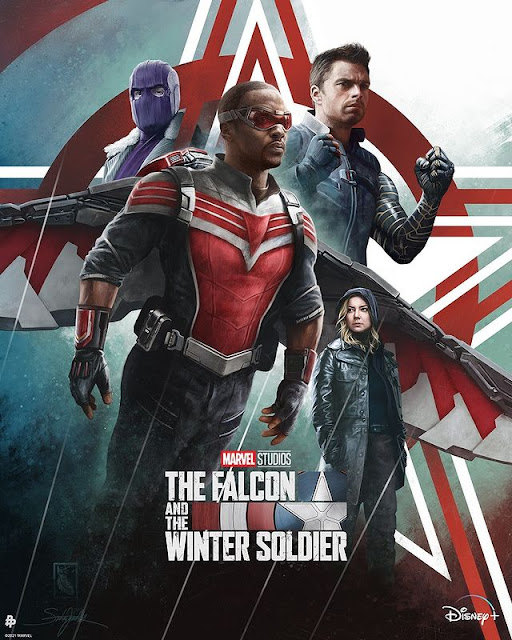 The Falcon and The Winter Soldier Poster - Desktop HD Wallpapers