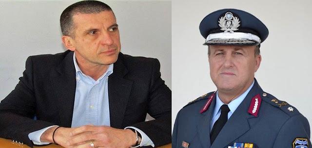 Ο Βασίλης Μουσελίμης αστυνομικός διευθυντής Θεσπρωτίας στη θέση του κ. Ντόντη