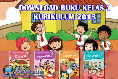 Buku Kelas 1 SD/MI Kurikulum 2013 Revisi Terbaru Semester 1
