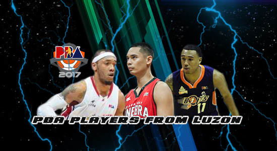 List of PBA Players from Luzon 2017