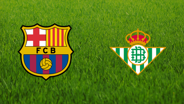 معلق مباراة برشلونة وريال بيتيس اليوم في الدوري الإسباني