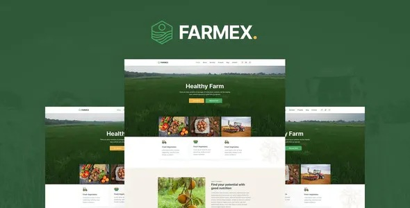 Best Agriculture and Farm Elementor Template Kit