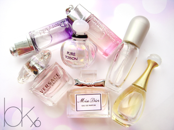My Collection Deluxe Perfume Samples