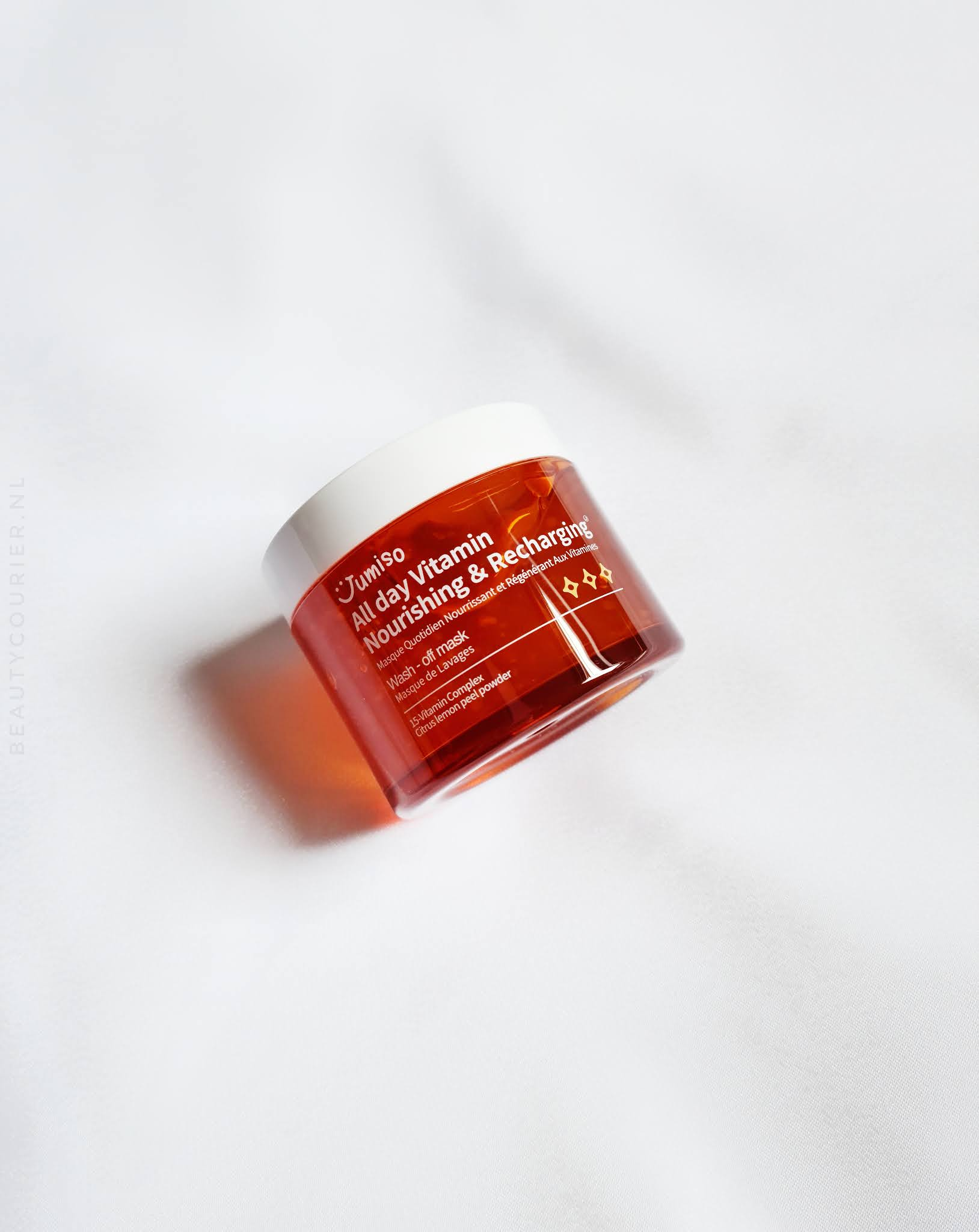 Review | Jumiso - All-day Vitamin Nourishing and Recharging wash-off mask | beautycourier.nl