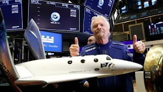 Billionaire Richard Branson is all set to launch himself to spaceon Virgin Galactic spaceflight