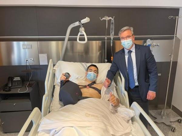 Málaga, Ramón Enríquez es operado: Estará 3 meses de baja