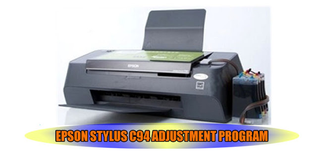 Epson Stylus C94 Printer Adjustment Program