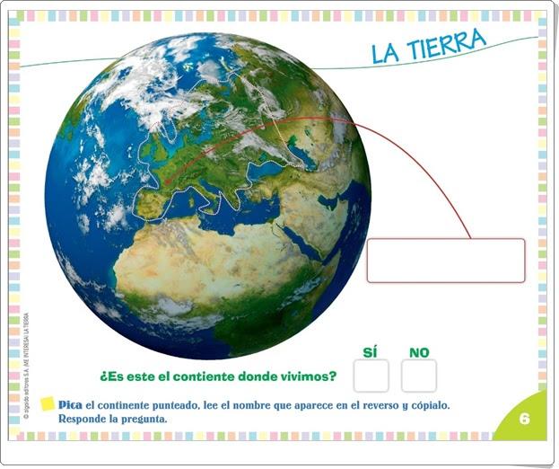 """Proyecto de Educación Infantil de 4 años """"La Tierra"""" (Colección """"¡Me interesa!"""" de Editorial Algaida)"""