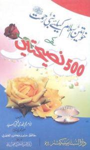 Khwatene E Islam Ke Liye Nabi E Rehmat S.A.W.W Ki 500 Naseehatain Pdf Book Download