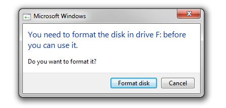 Cara Memperbaiki Flashdisk Yang Minta Di Format
