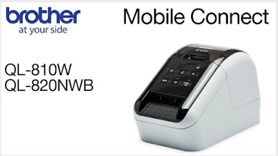 Brother QL-820NWB Label Printer Drivers Download