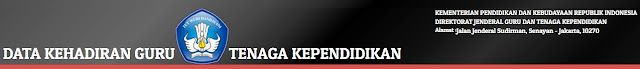 DATA KEHADIRAN GURU dan TENAGA KEPENDIDIKAN (ABSEN ONLINE)