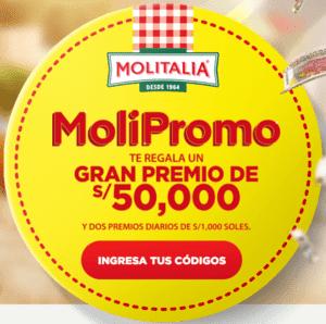 MOLIPROMO TE RELAGA UN GRAN PREMIO DE S/50,000
