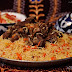 Nigerian Concoction Rice With Fried Meat
