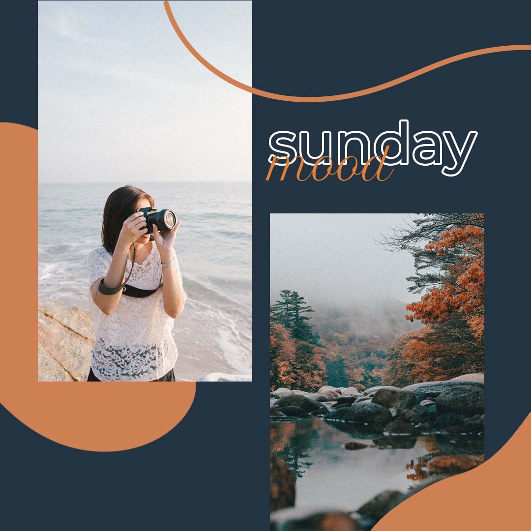 Sunday Mood - Instagram Post Template (JPG, PSD) - Ngcloudy.com