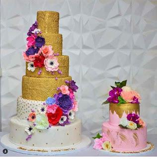 Tonto Dikeh birthday cake