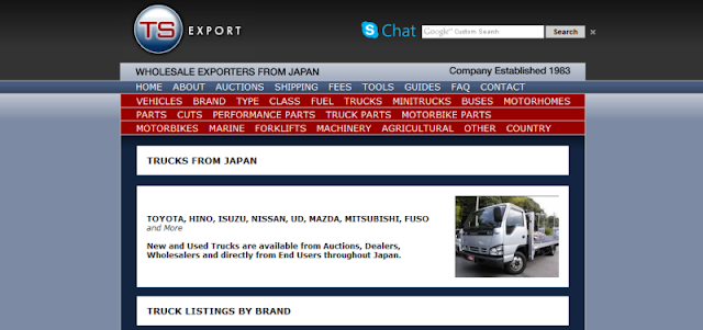 reputable import and export company in Japan
