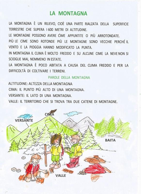 Estremamente Studiamando liberamente: La montagna e Le Alpi italiane ZV95