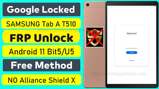 Samsung T510 FRP Bypass Android 11 Google Account Remove
