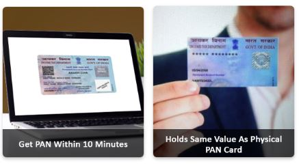 Download PAN card, e-PAN