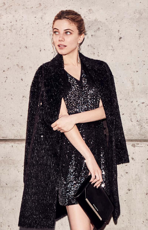 Vestidos de invierno 2020 moda mujer. Moda 2020 casual chic invierno.