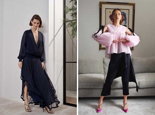 Блузка с пышными рукавами - Модная одежда для весны и лета
